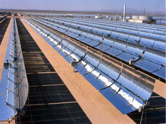 Partie i les panneaux solaires photovolta ques for Miroir solaire parabolique